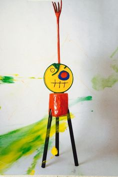 Joan Miro Paintings, Art Day, Tweety, Art For Kids, Projects, Crafts, Kindergarten, Paper, Kid Art Projects
