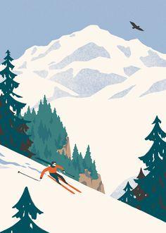 Winter in the Alps | David Doran