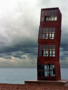 Rebecca Horn: sculpture (static & kinetic), performance Unique Buildings, Beautiful Buildings, Outdoor Sculpture, Sculpture Art, Contemporary Art Daily, Gerhard Richter, House Windows, Art Installation, Architecture Details