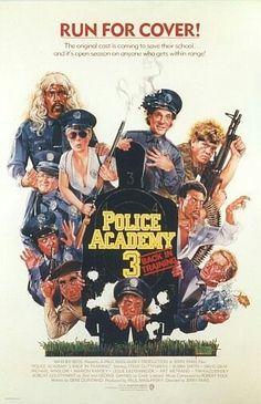 Police Academy 3# good movie