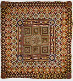 Crimean Quilt, Unknown artist.  Have a read on the Etsy UK blog and take a look at how you can trace Britain's thriving maker culture back through the centuries and right up to date.  https://blog.etsy.com/uk/2014/07/07/5-tate-folk-art-etsy-finds/