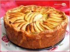 Tarte aux pommes comme chez grand-mère...car il fallait bien lui trouver un nom !