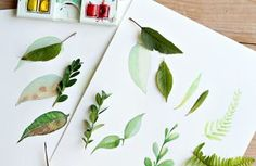 How to Paint a Basic Leaf