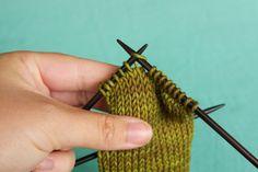 How to work a ssk (slip, slip, knit) decrease