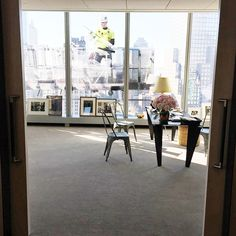 a look inside anna wintours office at the new vogue offices at 1 world trace center photo by hamish bowles via instagram anna wintour office google