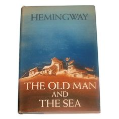Hemingway First Edition The Old Man and the Sea | From a unique collection of antique and modern books at http://www.1stdibs.com/furniture/more-furniture-collectibles/books/