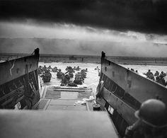 El desembarco de Normandía en Omaha Beach