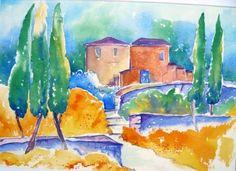 Afbeeldingsresultaat voor voorbeelden aquarel schilderen