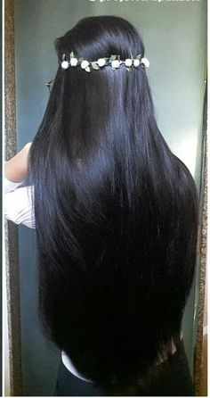 Straight Lace Front Human Hair Perigs For Women Pre-plucked Brazilian Remy Hair Wigs 13 * 4 blekta. Pretty Hairstyles, Wig Hairstyles, Straight Hairstyles, Woman Hairstyles, Straight Black Hair, Long Dark Hair, Remy Hair Wigs, Human Hair Wigs, Beautiful Long Hair