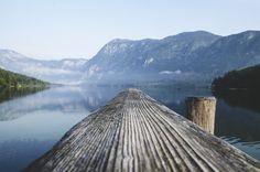 Pier At Lake Bohinj In Triglav National Park Slovenia Ultra HD Art Print by hires Go Camping, Camping Hacks, Outdoor Camping, Camping Outdoors, Camping Oven, Road Trip Usa, Bon Plan Voyage, Stations De Ski, Lakes