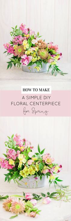 You can never have enough springtime flower decor in your home.