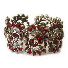 A garnet bracelet