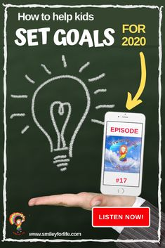 Help your child get clarity and focus for 2020. Let them take responsibility for their lives and their learning by setting their own goals and taking stock of the year that has just gone by. You can listen in today www.smileyforlife.com/tms17 #goalsetting #forkids #forteachers #2020goalsetting #2020newyearsresolutions