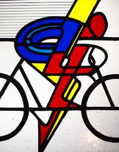 R. G. Croudace Stained Glass: Stained glass commission- Bicycles!