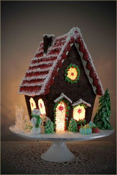 Gingerbread house made for Christmas 2013