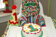 A Very Hungry Caterpillar First Birthday Birthday Party Ideas | Photo 1 of 26