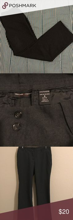 New York & Co Slacks. Petite Size 4. Great for office and comfortable for casual wear. New York & Company Pants Trousers