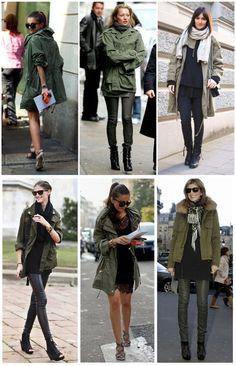 Army jacket cool