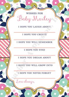 baby shower baby sprinkle long distance girl nursery baby shower
