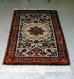 Another view of Miss Lili's Rug.