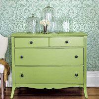 cómoda provenzal verde