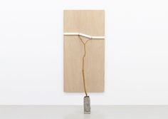 景測化 Measure of Scenery 2015, wood, acrylic, stone h.211.5 x w.90.0 x d.95.0 cm…