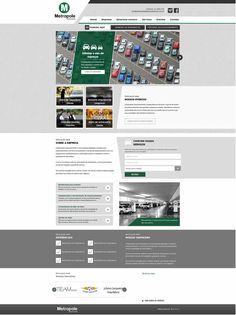 Criação de sites para estacionamento