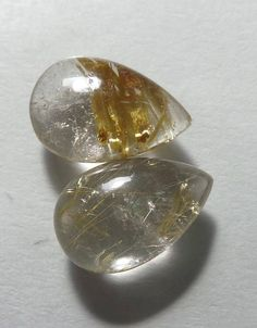 Listing Description Item Stone Name :- Natural Golden Rutilated Quartz Carat (WT):- 8 Carat Quantity :- 1 Piece Pcs Lot) Shape:- Pear Shape Smooth Plain Cabochon Gemstone Type :- Natural (Untreated and Unheated) Measurements:- MM Quality:-AAA++ Golden Rutilated Quartz, Stone Names, Pear Shaped, 1 Piece, Shapes, Gemstones, Natural, Top, Gems