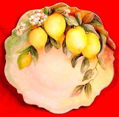 Antique+German+Porcelain+Hand+Painted+Cabinet+Plate+c.1875-1920+signed,+p126