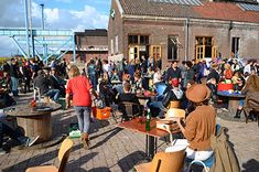 Amsterdam Roest -- A new love, creative city oasis, cafe and bar, beach and city cultural sanctuary.