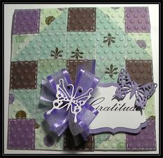 A quilted card for a quilter.