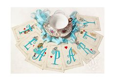 Hey, I found this really awesome Etsy listing at http://www.etsy.com/listing/96136690/alice-in-wonderland-tea-party-bunting