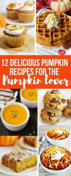 12 Delicious Pumpkin