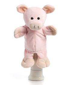 Take a look at this Colbie the Pig Puppet by Nat & Jules on #zulily today!