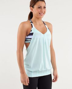 Love style of this tank - great for hidin' the 'pouch' :-)
