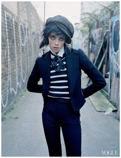 Edie Campbell - Vogue, december 2013. Dressing like the Dickens.  Photo Tim Walker