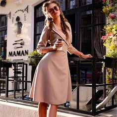 Vanessa - Vintage Autumn Dress