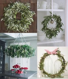 glitter, glue and fireflies: Fabulous & Creative Wreaths.... Part Trois
