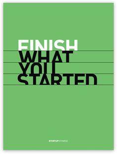 finish what you've started quotes - Google Search