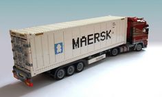 Lego container on truck by Mad physicist, via Flickr.