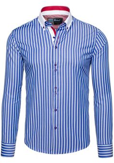 Pánská košile BOLF 5802 modrá MODRÁ   Pánská móda \ Pánské košile \ Košile dlouhý rukáv Pánská móda \ Pánské košile \ společenské Pánská móda \ Pánské košile \ proužkované Przecena 15%   Bolf - Internetový Obchod s Oblečením   Oděv   Oblečení   Kabáty   Bundy