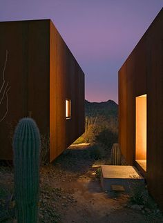 by Rick Joy Architects, the Desert Nomad House, Tucson, Arizona