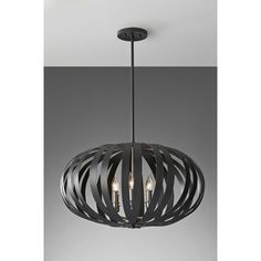 Feiss Woodstock 6 Light Chandelier