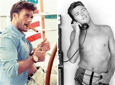 Hunky and delicious Clint Eastwood's son, Scott looks alright in this nautical shot.