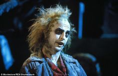 Showstopping: Michael Keaton only appeared on screen in Beetlejuice for 17 minutes in the original but every single one was memorable