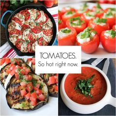 10 Totally Awesome Tomato Recipes