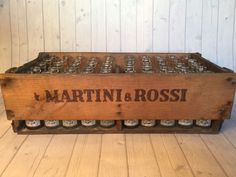 """Full box """"Martini & Rossi"""", fifty bottles - 1950 with documents"""