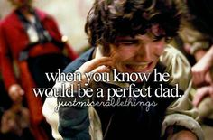 When you know he would be a perfect dad - #justmisérablethings