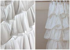 Ruffled curtain instructions