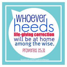 Proverbs 15:31